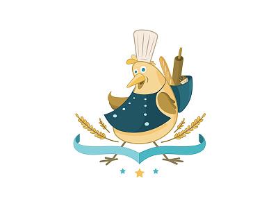 Goooooose identity logo graphic goose illustration