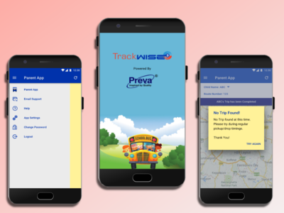Redesign of School Bus Tracking App for Parents
