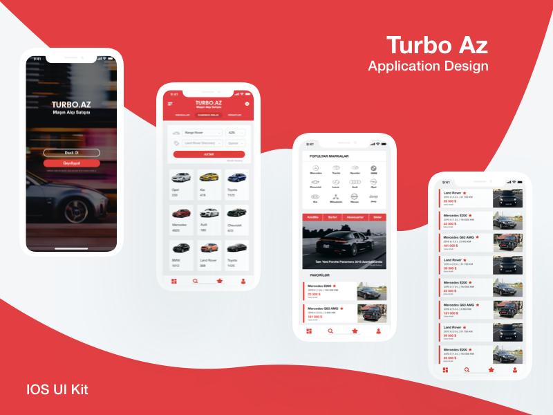 Car Buying App >> Turbo Az Car Buying App Ios Ui Kit By Nazanin Mammadzada On Dribbble