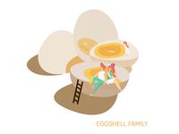 Eggshell Family