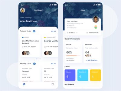 Mobile Application - Dashboard