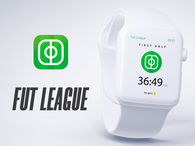 Fut League championship icon instagram wearable logo app iwatch league futebol futbol soccer