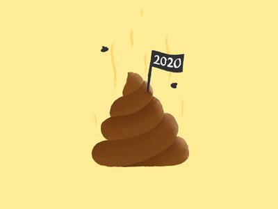 2020 poop poo quarantine new year 2020
