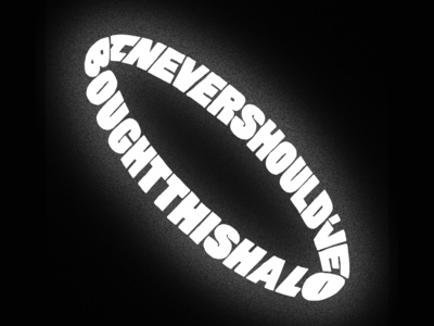 Halo halo lyrics hand type typography handmade lettering