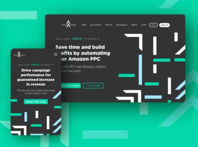 Kinetic PPC Landing Page Mockup
