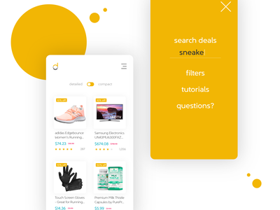 Delight - Mobile UI Concept mobile design mobile visual design branding uxdesign ux ui  ux ui