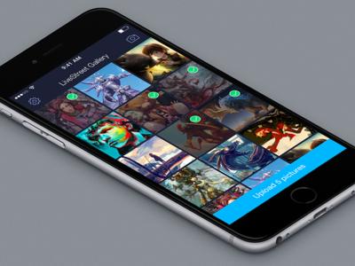 LiveStreet Gallery App