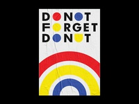Do not forget donut