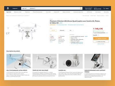 Amazon Redesign amazon figma design ux ui redesign