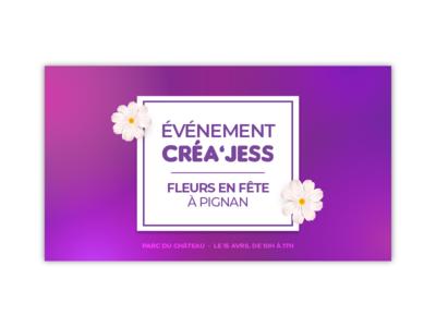 Affiche événement Créa'Jess