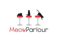 Logo Concept for Meow Parlour