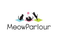 Logo Concept #2 for Meow Parlour