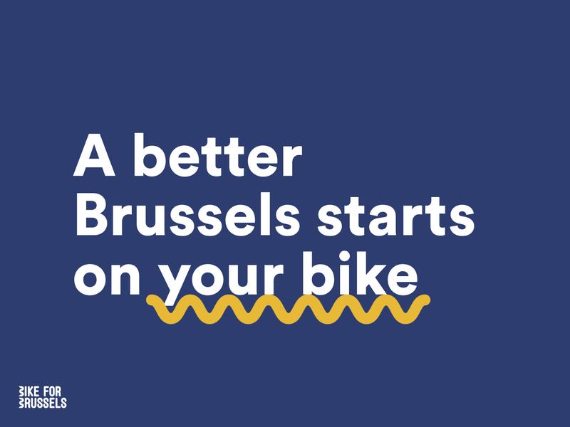 Bike for Brussels 2019 bikeforbrussels keynote presentation keynote osoc branding visual design design adobexd adobe