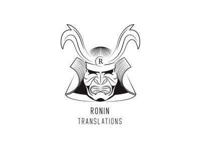 Ronin Translations – Logo Design vector illustration adobe illustrator logo design design typography vector branding logo illustration adobe