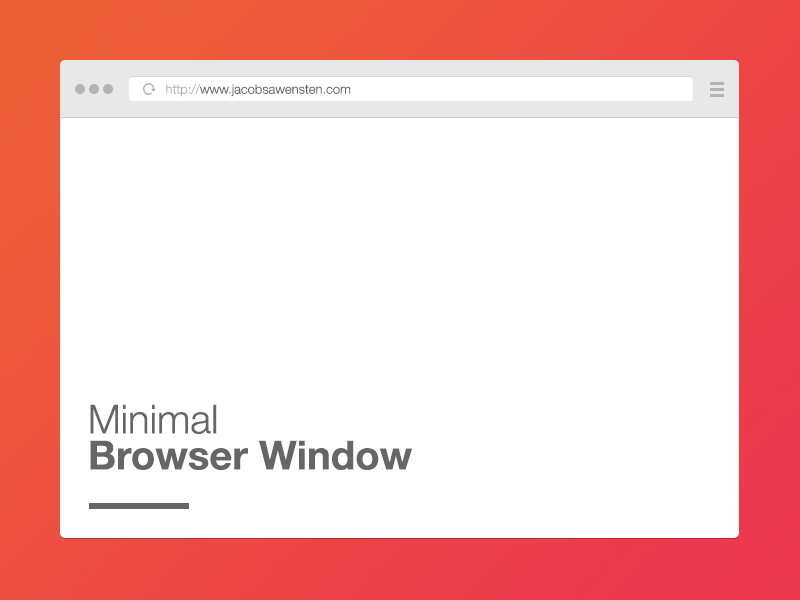Free minimal browser window browser minimal freebie free psd mockup minimal browser browser window give away