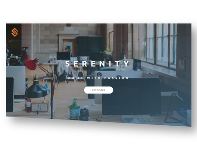 Serenity Landing Page