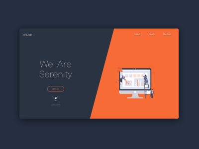 Serenity Labs Landing Page