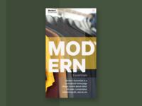 Modern Essentials - Mobile
