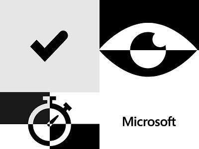 Challenge Accepted. Microsoft GDPR Campaign microsoft digital design advertising minimal greece