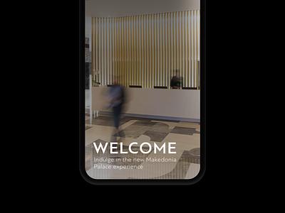 Makedonia Palace: Mobile launching thessaloniki greek greece hotel simplicity minimal fullscreen website ux design mobile ui mobile design website design web design