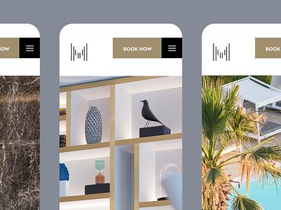 Makedonia Palace close-ups. simplicity user interface design greece thessaloniki website design hotel website web design ux design minimal