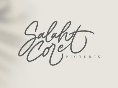 Salahcoret Lettering logo procreate illustrator lettering goodtype design brand typography branding