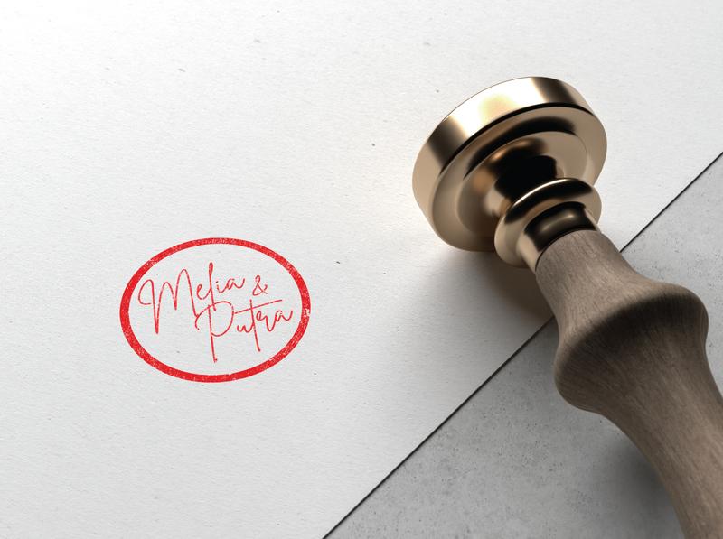 wedding lettering logo design brand procreate letter lettering goodtype branding typography