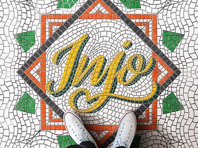 INJO - lettering letter procreate design lettering goodtype brand typography branding