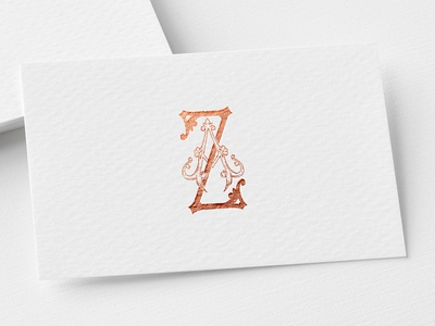 Monogram AZ brand app branding typography typegang ux goodtype ui logo design