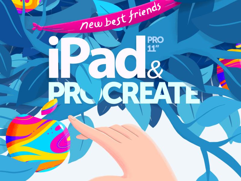 New Best Friends best friends ipad pro creative tree apple ipad procreate art procreate illustration design 2d gareso