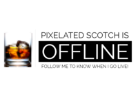 Pixelated Scotch Channel Art for Twitch