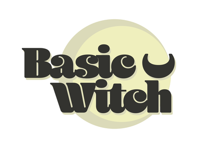 Basic Witch Graphic Tee Design