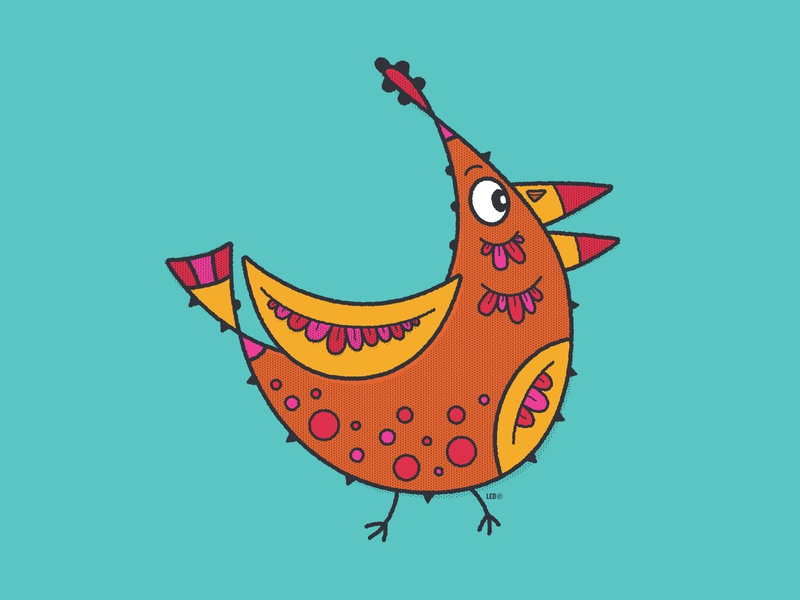 """Los Pajaritos"", The Birdies. #2 flat design vector kidlitart kids illustration branding icon illustration childrens illustration animation"