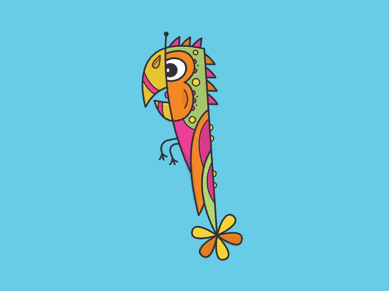 """Los Pajaritos"", The Birdies. #3 illustrator branding vector kids illustration icon kidlitart illustration design childrens illustration animation"
