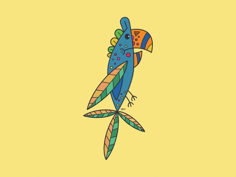 """Los Pajaritos"", The Birdies. #7 flat vector icon illustrator kids illustration kidlitart illustration design childrens illustration animation"