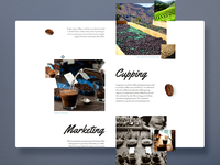 Coffee Content Page Layout