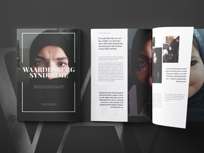 Case Study Layouts playfair typography layout design print