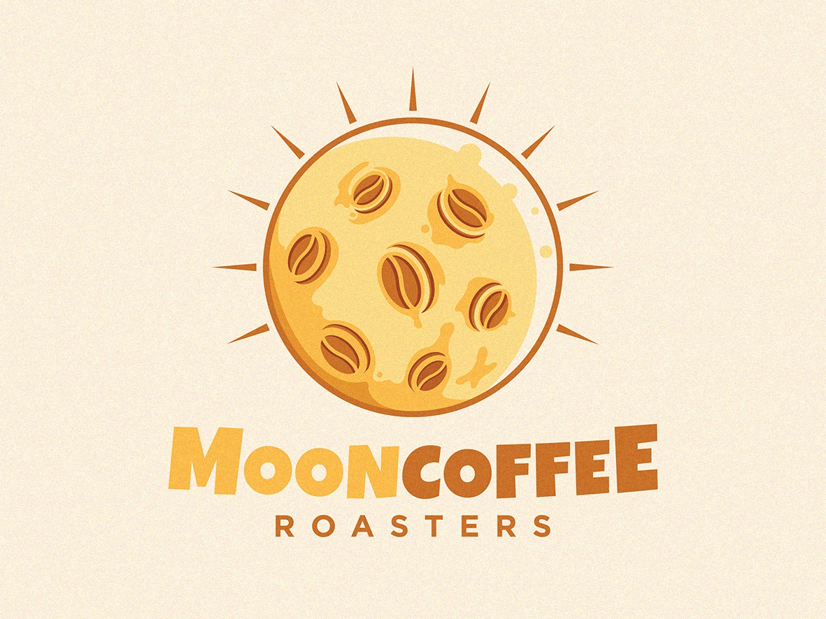 Mooncoffee logo design logo mark sale logo illustration icon design character logo cartoon branding agency branding cool logo restaurant logo roaster logo moon logo coffee logo