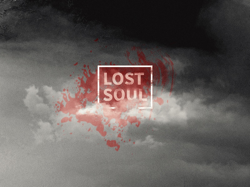 Lost Soul white minimal delhi india design graphic type typography identity abstract
