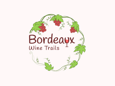 Bordeaux Wine Trails Logo