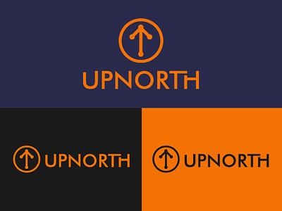 UpNorth Combination mark brandidentity icon combination mark wordmark design branding logo