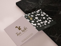 Product card for jewelry