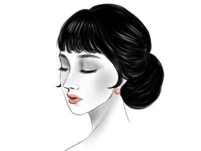 the beauty artworks digital painting digitalartwork handdrawing illustration illustrator