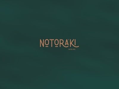 NOTORAKI LOGO & BRAND IDENTITY minimal animation website logo illustration brand ui ux illustrator identity design branding