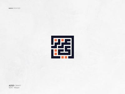 Azizi Craft logo Design logo design branding