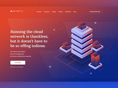 Aviatrix   Header color header cloud roi digital rates price landing page saas agency