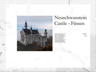 Social Share Neuschwanstein - Daily UI 010