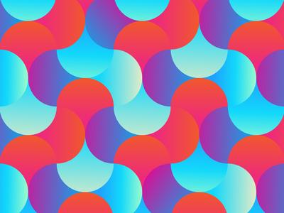 Woven Circle Pattern