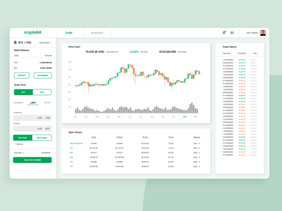 Currency Exchange - Analytics Chart Daily UI 018