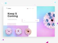 Donuts Subscription - DailyUI 026